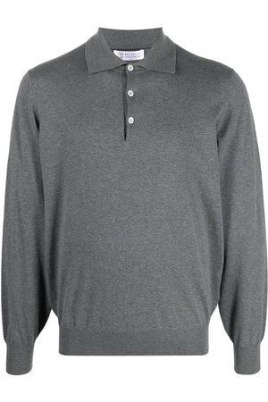 Brunello Cucinelli Homem Manga comprida - Long-sleeved polo shirt