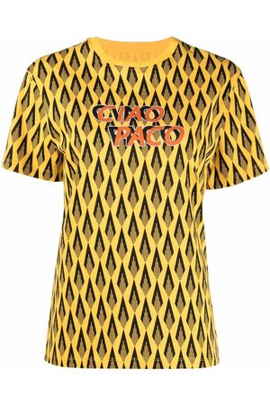 Paco rabanne Ciao Paco print T-shirt