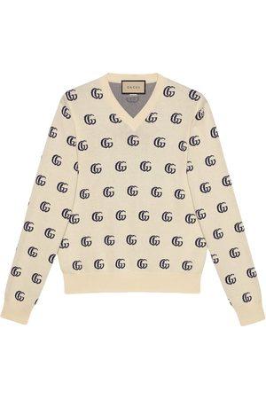Gucci GG knit cotton jacquard jumper