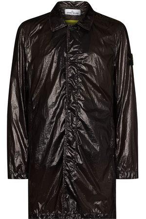 Stone Island Homem Gabardinas - Lucido packable trench coat