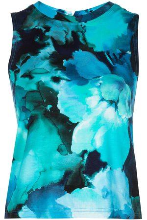 Marchesa Notte Tie-dye print tank top
