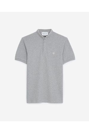 THE KOOPLES SPORT Homem Formal - Light gray polo shirt