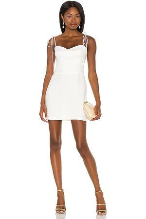 Amanda Uprichard X REVOLVE Cava Mini Dress in - . Size L (also in XS, S, M).