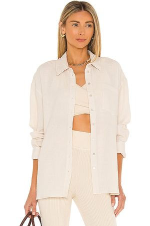 L'Academie Ophelia Button Down Top in - . Size L (also in XXS, XS, S, M, XL).