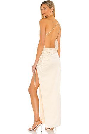 Lovers + Friends Senhora Vestidos de Festa - Maegan Gown in - Metallic Gold. Size L (also in XS, S, M, XL).