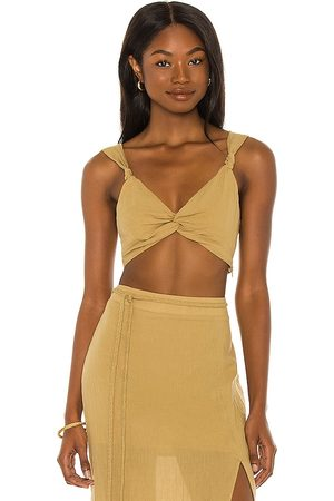House of Harlow X Sofia Richie Manina Top in - Beige. Size L (also in S, XS, M, XL).