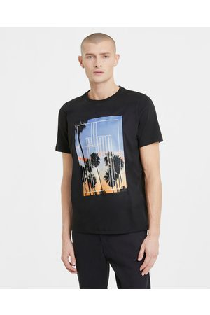 PUMA Graphic Photo Print T-shirt Black