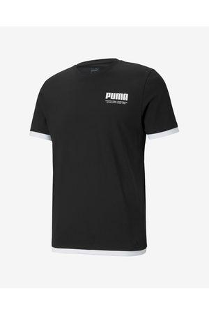 PUMA Summer Court Elevated T-shirt Black