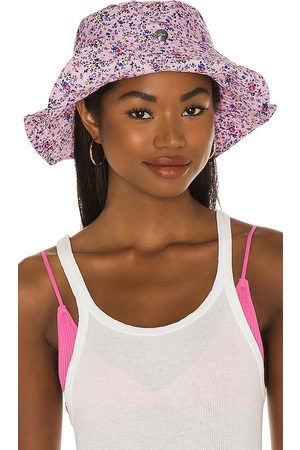 Ganni Floral Bucket Hat in - Pink. Size M/L (also in XS/S).