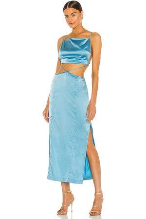Hansen & Gretel Serpentine Dress in - Blue. Size L (also in M).
