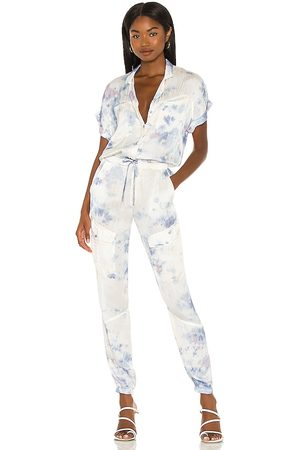 Young, Fabulous & Broke X REVOLVE Truman Jumpsuit in - Blue. Size L (also in XS, S, M).