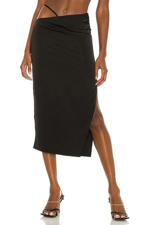 h:ours Sonnie Midi Skirt in - . Size L (also in XXS, XS, S, M, XL).