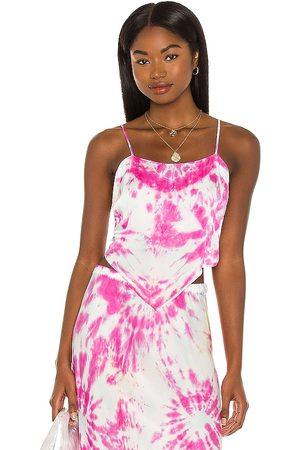 Young, Fabulous & Broke X REVOLVE The Joni Scarf Tank in - Pink. Size L (also in XS, S, M).