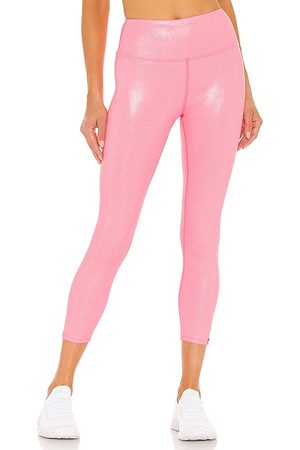 Venus Williams Stay Glossy Legging in - Pink. Size L (also in XS, S, M).
