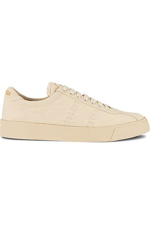 Superga 2843 CLUBS O ORAGNIC Canvas Sneaker in - Beige. Size 6 (also in 6.5, 7.5, 8, 9, 9.5).
