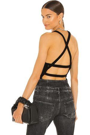 AGOLDE Nova Banded Back Bodysuit in - . Size L (also in XS, S, M, XL).