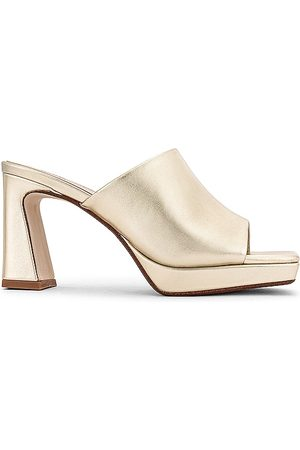 Jeffrey Campbell Caviar Heel in - Metallic Gold. Size 10 (also in 6, 6.5, 7, 7.5, 8, 8.5, 9, 9.5).