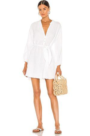 LA Made Senhora Vestidos Casual - Sonia Shirt Dress in - . Size L (also in S, XS, M).