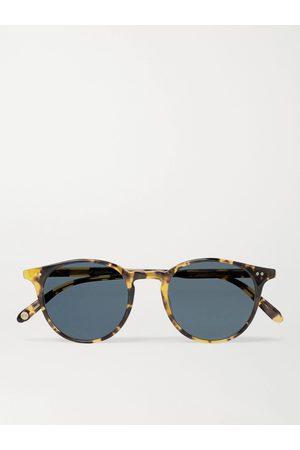GARRETT LEIGHT CALIFORNIA OPTICAL Homem Óculos de Sol - Clune Round-Frame Tortoiseshell Acetate Sunglasses