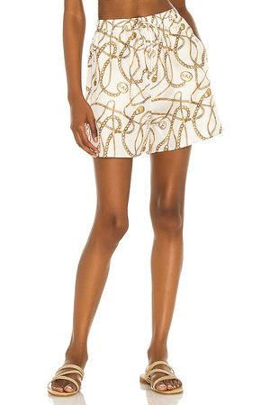 Tell Your Friends Lounge Short in - Cream. Size L (also in S, XXS, XS, M, XL).