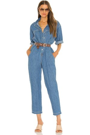 Overlover Hope Jumpsuit in - Blue. Size S (also in XS).