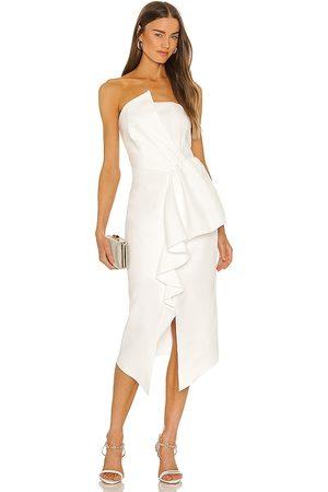 ELLIATT Reception Dress in - White. Size L (also in XS, S, M).