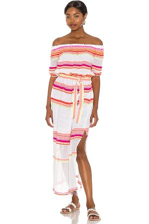 Lemlem Qelem Maxi Dress in - Pink. Size L (also in S, XS, M).