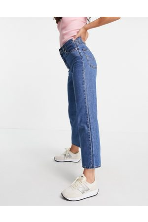 Levis Levi's math club flared jeans in mid wash-Blue