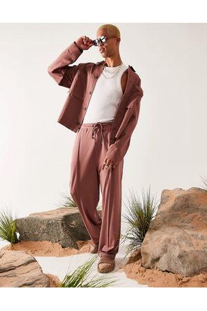 ASOS DESIGN Oversized harrington jacket in pink