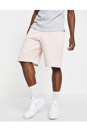 River Island Oversized shorts in pink