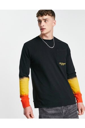 The Hundreds Oceanview long sleeve top in black