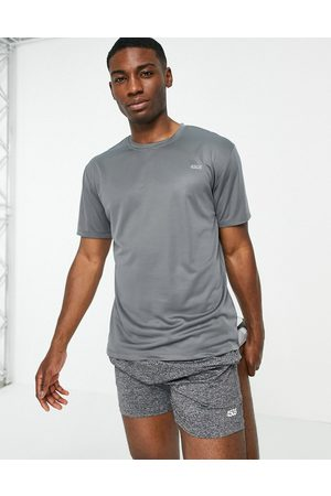 ASOS Icon easy fit training t-shirt with quick dry in grey