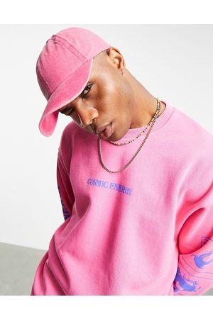 ASOS DESIGN Homem Chapéus - Baseball cap in washed pink