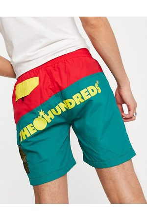 The Hundreds Cruise hybrid shorts in red