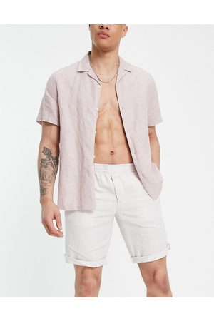 Timberland T-l linen easy shorts-Neutral