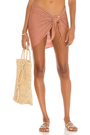 Montce Sarong in - Mauve. Size all.