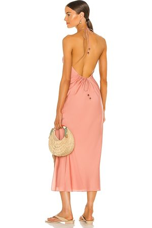 Song of Style Rosalind Maxi Dress in - Pink. Size L (also in XXS, XS, S, M, XL).