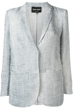 Giorgio Armani Senhora Blazers - Textured blazer