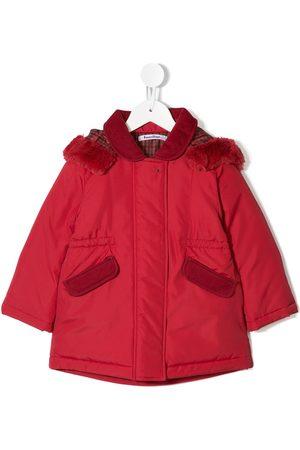 Familiar Menina Casacos - Padded hooded jacket