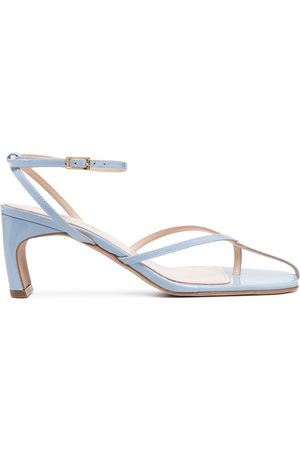 Elleme Senhora Cuecas - Thong-strap leather sandals