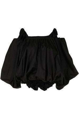 GOEN.J Voluminous-shape cotton-blend blouse