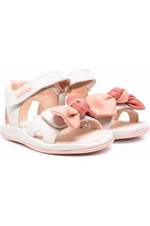 Camper Menina Sandálias - Bow-detail sandals