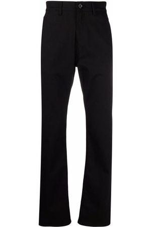 Alexander McQueen Logo-embroidered straight-leg jeans