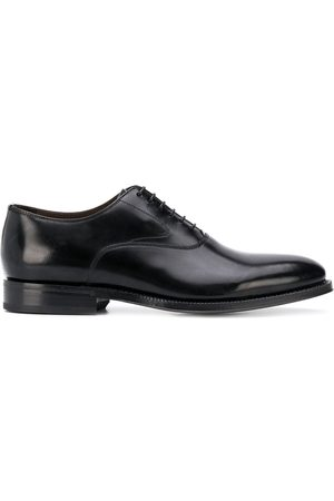 Green george Pointed toe lace-up Oxford shoes