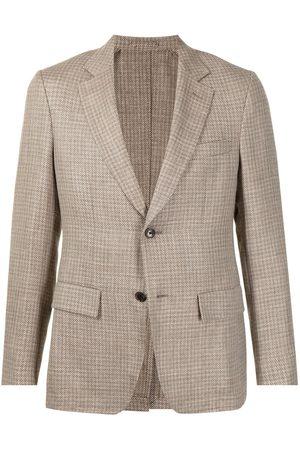 Salvatore Ferragamo Check-print blazer