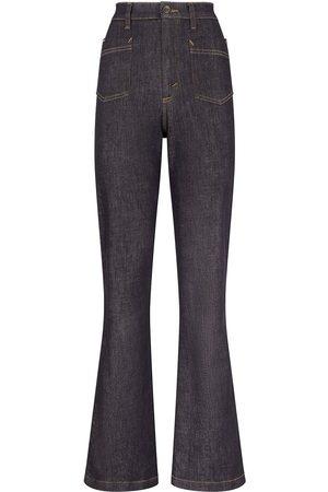 Dolce & Gabbana Senhora Bootcut & Boca-de-sino - High-waisted flared jeans