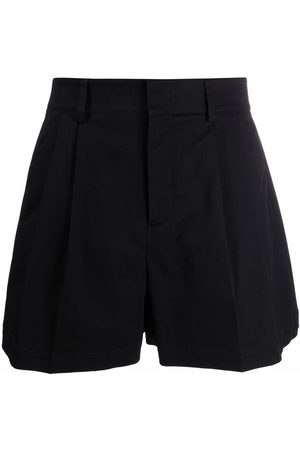 RED Valentino Flared high-waisted shorts