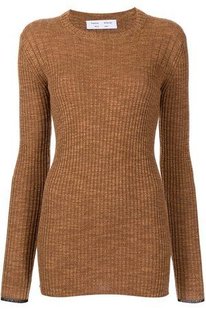 Proenza Schouler White Label Fine-rib knitted top