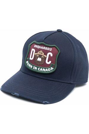 Dsquared2 Homem Chapéus - Logo-patch baseball cap