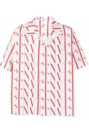 VALENTINO VLTN-print short-sleeve shirt